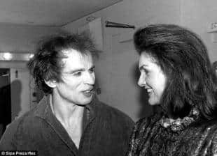 Jackie e Rudi ebbero una lunga relazione dagli Sessanta in poi