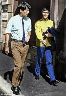 Nureyev avrebbe avuto un flirt con Bob Kennedy