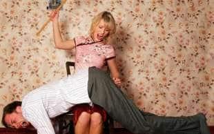 alcuni uomini amano lo spanking