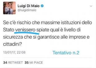 DI MAIO TWEET 1