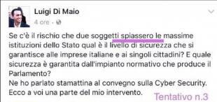 DI MAIO TWEET