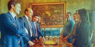 LUCA PARNASI - MAURO BALDISSONI - SIMONE CONTASTA - MARCELLO DE VITO - LUCA BERGAMO - VIRGINIA RAGGI