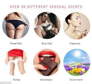 scelta di profumi per il porno