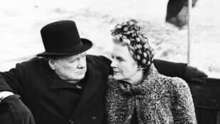 Churchill e la moglie