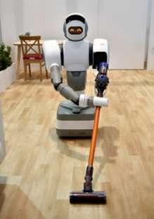 il robot per le pulizie domestiche