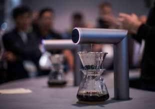 robot per fare il caffe