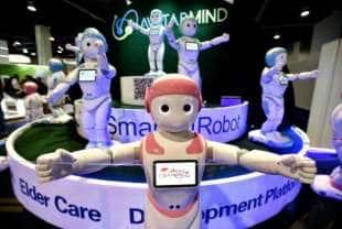 robot per gli abbracci