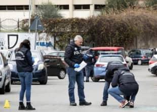 Andrea Gioacchini agguato magliana