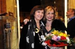 Principessa Ruspoli e Monica Scattini