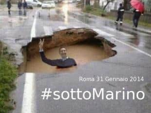 STORACE TWITTA IGNAZIO SOTTO MARINO