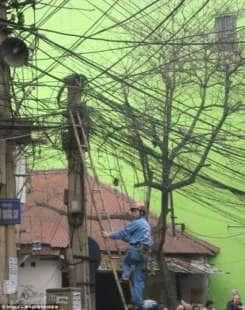 elettricista in oriente