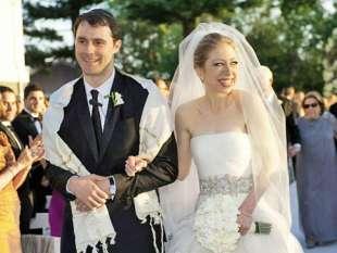 il matrimonio di hillary clinton e marc mezvinsky