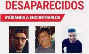 Italiani scomparsi in Messico - Antonio Russo - suo padre Raffaele e il cugino Vincenzo Cimmino