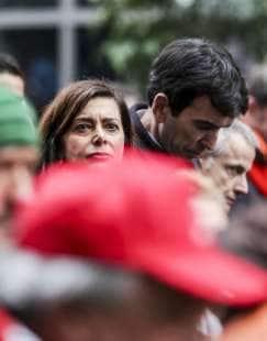 laura boldrini al corteo antifascista a roma 10