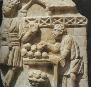 Nell antica roma i pasti erano modesti ma con l impero si for Cucina antica roma
