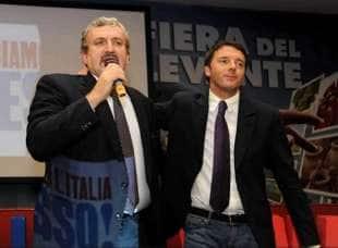 MICHELE EMILIANO E MATTEO RENZI