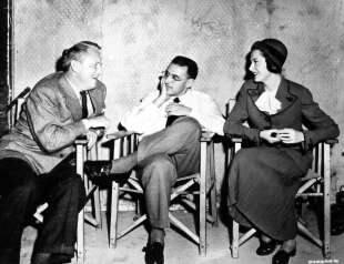 Spencer Tracy, George Cukor and Deborah Kerr t