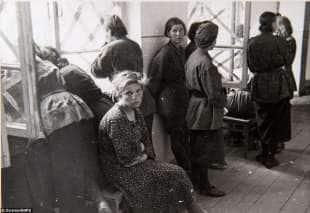 cattura delle donne bolsceviche