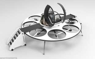 drone da trasporto passeggeri 4