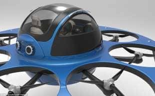 drone da trasporto passeggeri 6