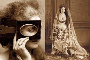 la contessa di castiglione nel 1865