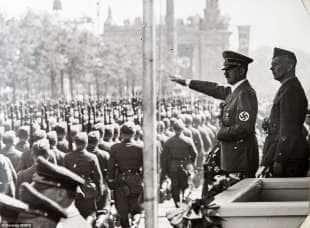ricthofen con hitler 1939