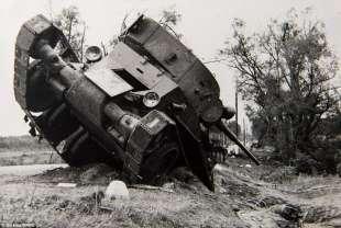 tank distrutto a kuznio