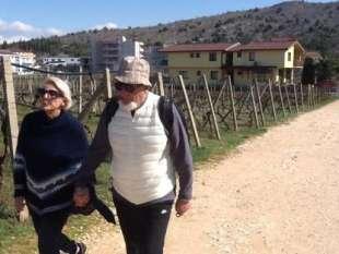 tiziano Renzi con la moglie