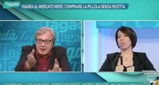VITTORIO SGARBI NUNZIA DE GIROLAMO
