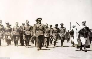 von richthofen marcia con il generale franco