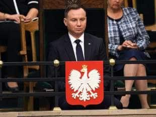 andzej Duda presidente polacco