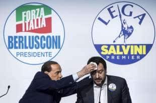 BERLUSCONI ED IL SUDORE DI SALVINI