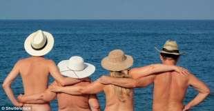 scambisti in vacanza