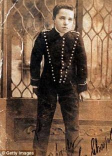 Charlie Chaplin da bambino