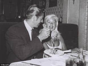 Jane Mansfield e Mike Hargitay a Roma