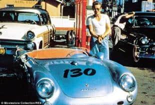 Coi primi soldi Dean compro la Porsche Spyder