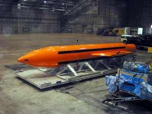 bomba moab. americana madre di tutte le bombe