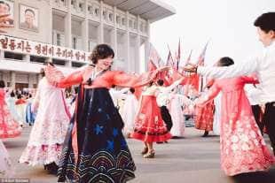 danza quotidiana a pyongyang