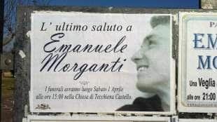 FUNERALE DI EMANUELE MORGANTI