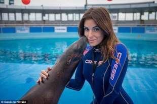 gessica notaro al delfinario