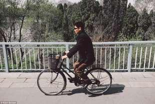 in bici a pyongyang