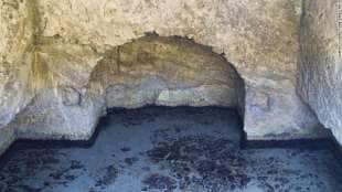 la piscina romana della villa dei casati stampa