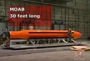 moab dieci metri di lunghezza