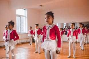 scuola di danza a pyongyang