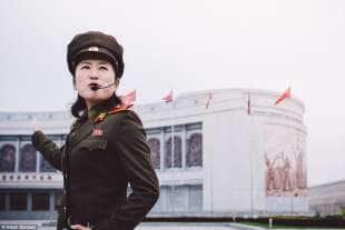soldatessa a pyongyang