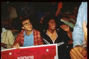 woody allen e michael jackson allo studio 54
