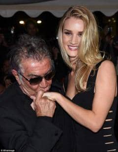 ROSIE HUNTINGTON WHITELEY E ROBERTO CAVALLI