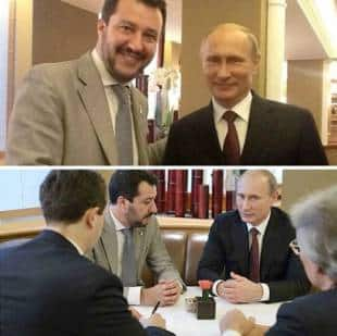 matteo salvini for putin