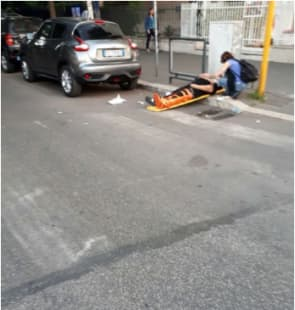 incidente smart roma