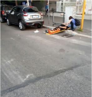 incidente smart roma